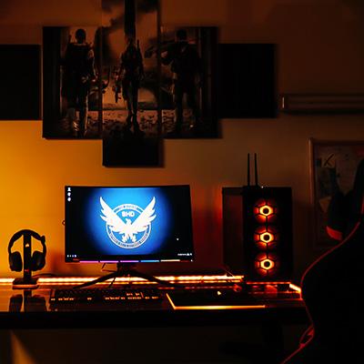 Volledige gaming room